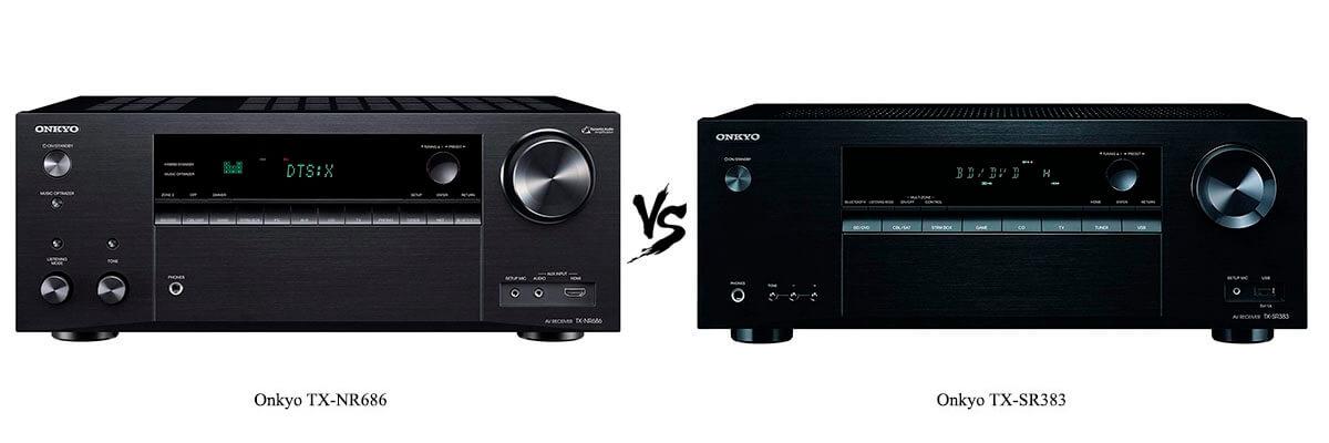 Onkyo TX-NR686 vs Onkyo TX-SR383