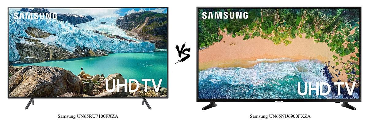 Samsung UN65NU6900FXZA vs Samsung UN65RU7100FXZA