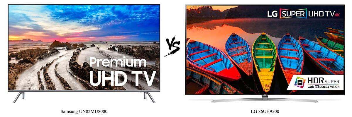 Samsung UN82MU8000 vs LG 86UH9500