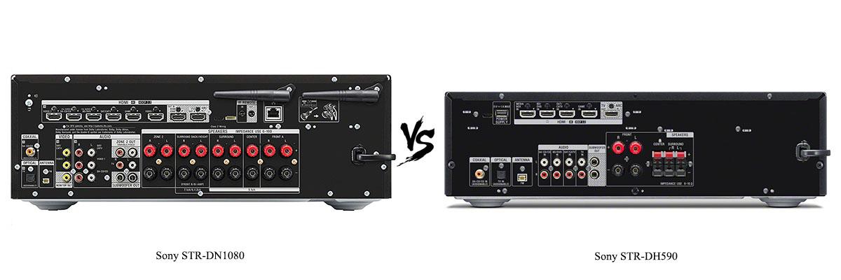 Sony STR-DH590 vs Sony STR-DN1080