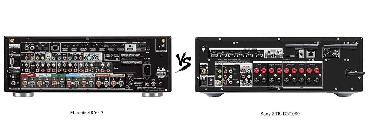 Sony STR-DN1080 vs Marantz SR5013