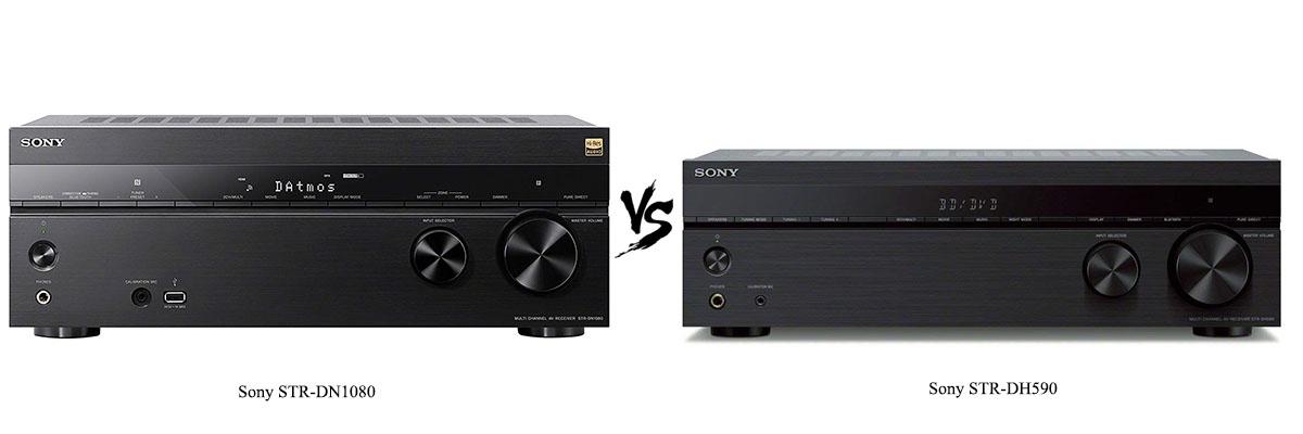 Sony STR-DN1080 vs Sony STR-DH590