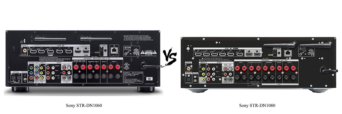 Sony STR-DN1080 vs Sony STR-DN1060