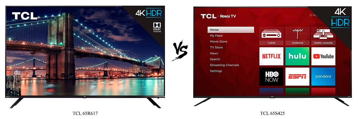 TCL 65R617 vs TCL 65S425
