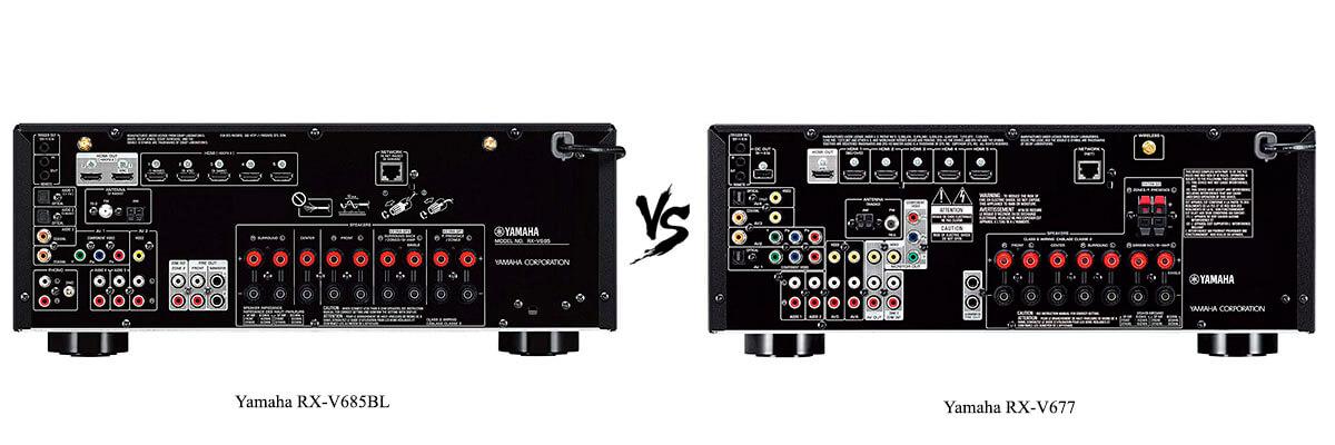 Yamaha RX-V677 vs Yamaha RX-V685BL