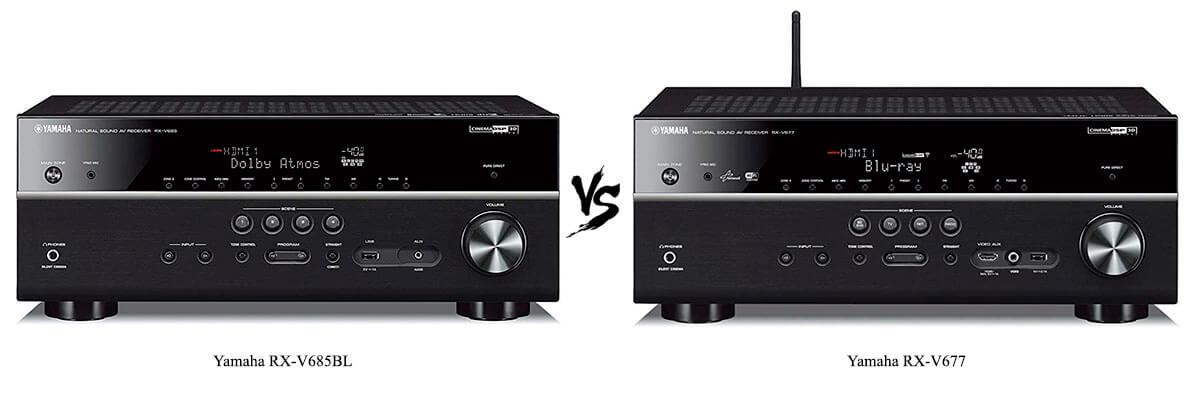 Yamaha RX-V685BL vs Yamaha RX-V677