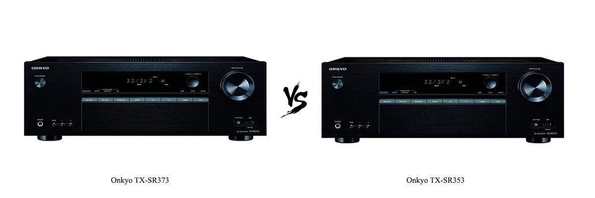 Onkyo TX-SR373 vs Onkyo TX-SR353