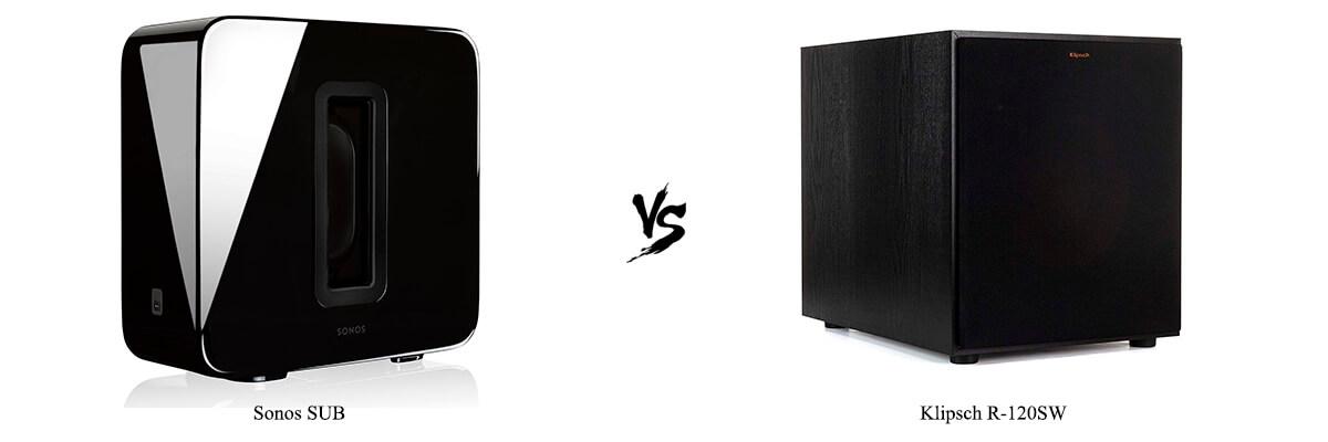 Sonos SUB vs Klipsch R-120SW