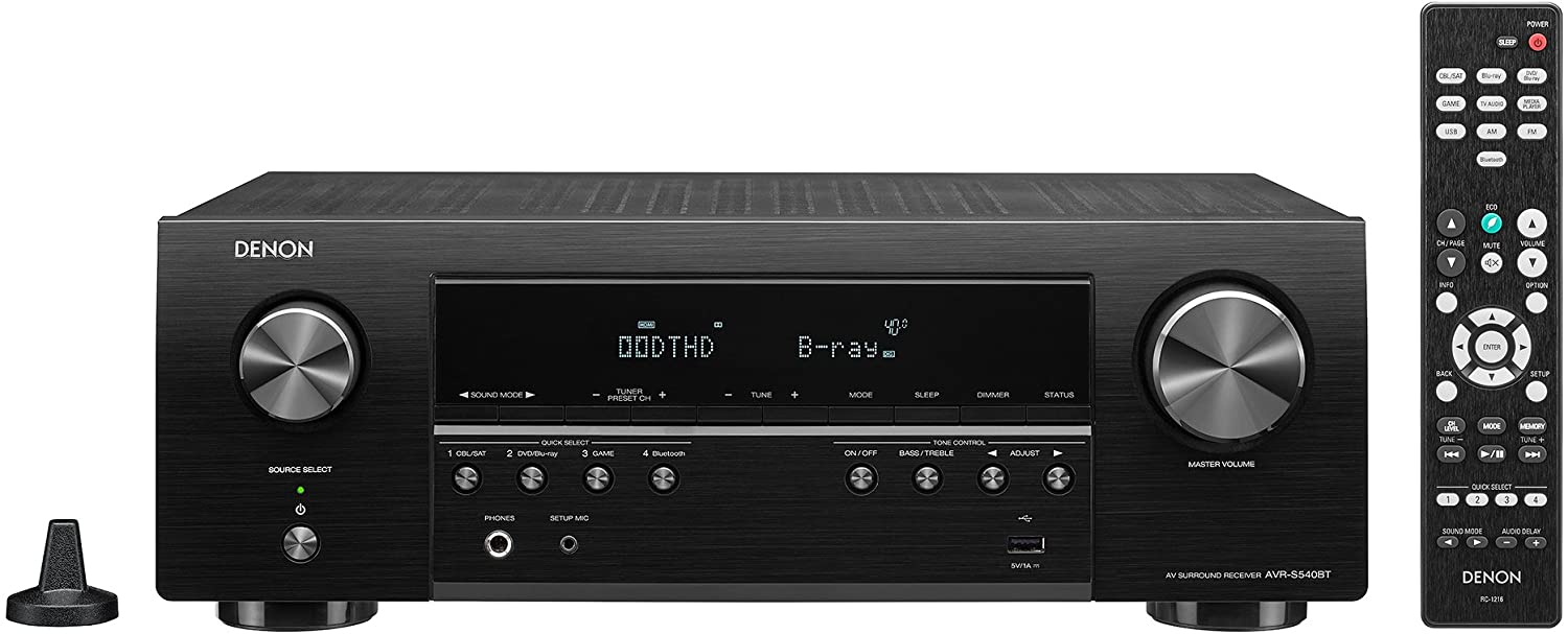 Denon AVR-X540BT review