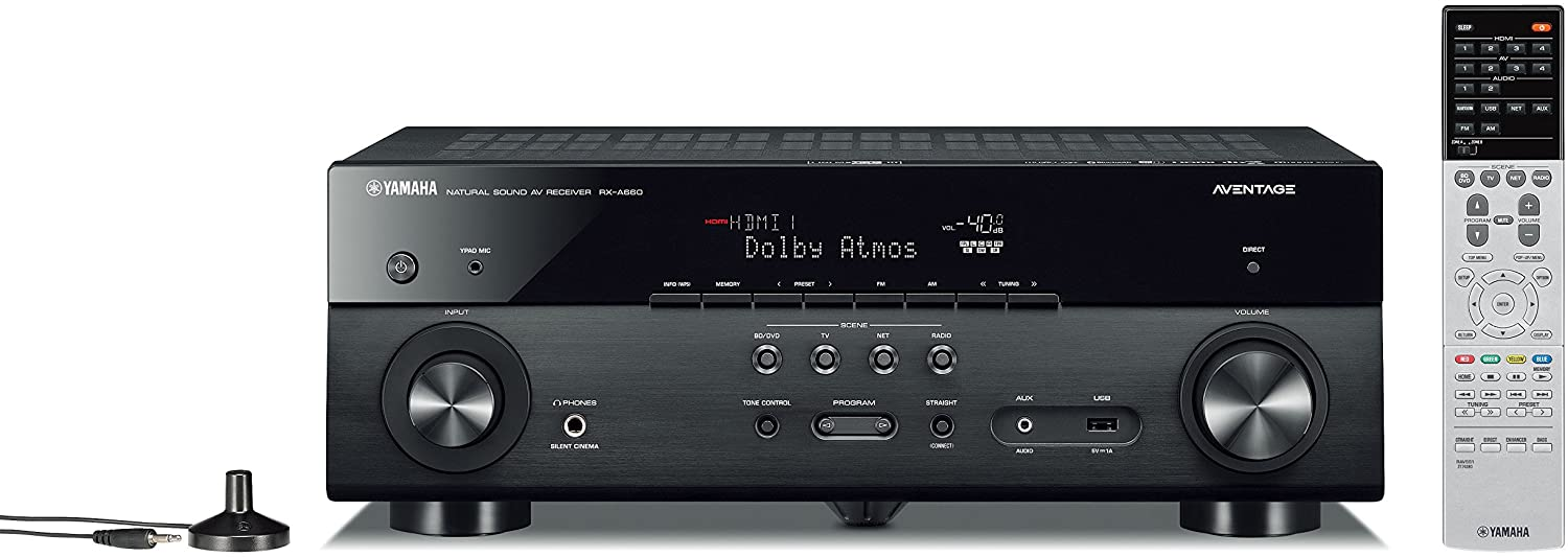 Yamaha RX-A660 review