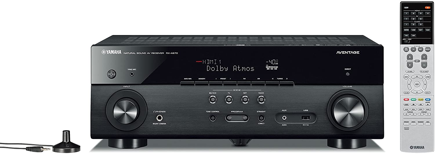 Yamaha RX-A670 review