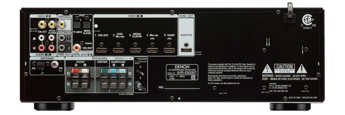 Denon AVR-S500BT