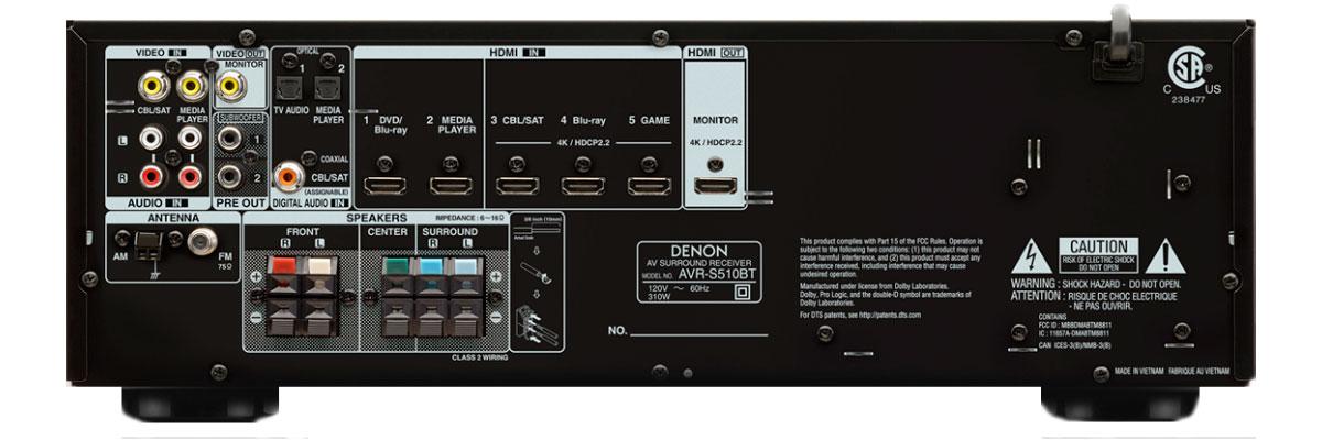 Denon AVR-S510BT