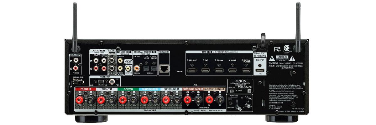 Denon AVR-S740H