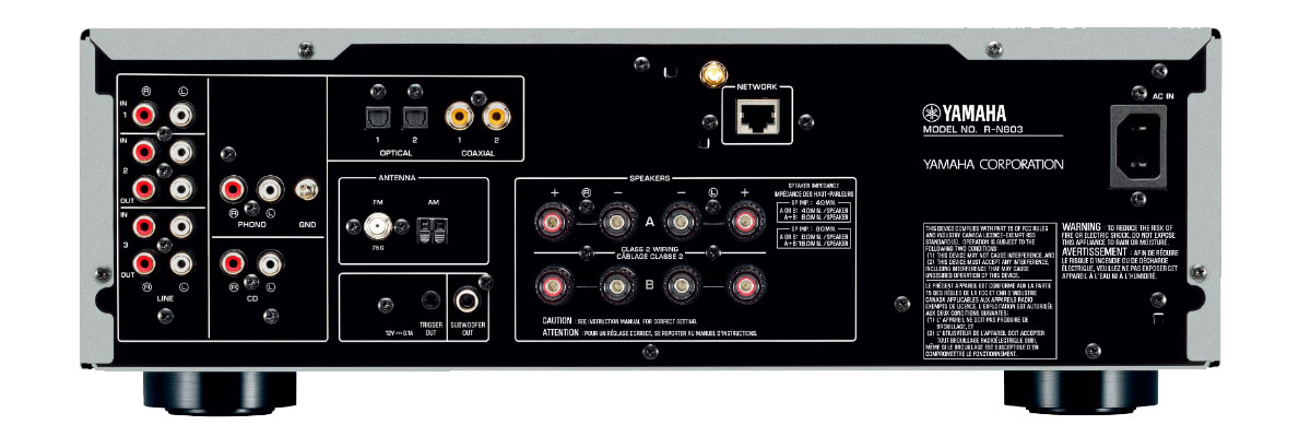 Yamaha R-N803BL