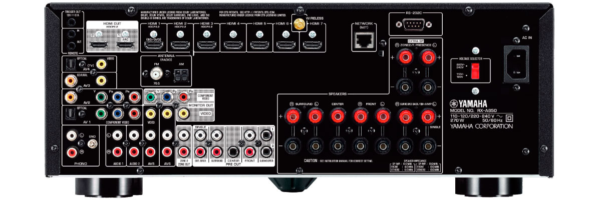 Yamaha RX-A850