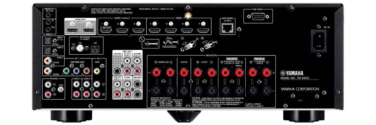 Yamaha RX-A870BL