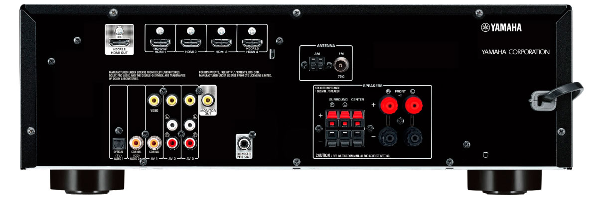 Yamaha RX-V379BL