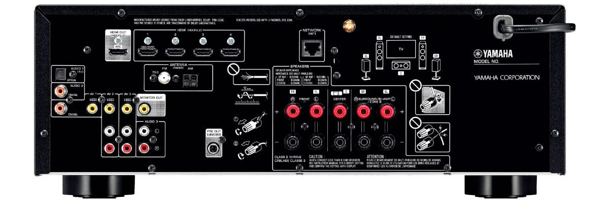 Yamaha RX-V483BL