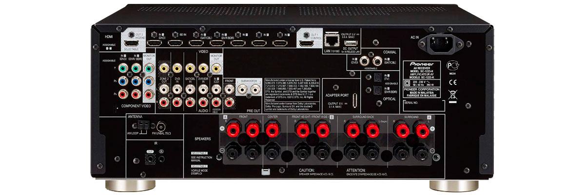 Pioneer SC-1223-K
